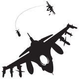 Kampfflugzeuge Lizenzfreie Stockfotos