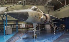 Kampfflugzeuge Dassault-Trugbild-G1971- mit einer variablen Schleife lizenzfreies stockbild