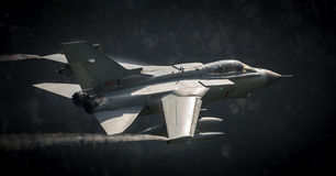 Kampfflugzeuge Tornado Lizenzfreie Stockfotos