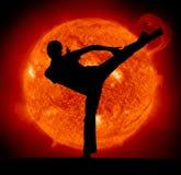 Kampfkunst stockfotos