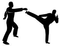Kampfkunst vektor abbildung