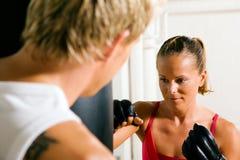 Kampfkunst-Paare Lizenzfreie Stockbilder