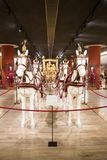 Kampfwagen-Papst Italien, Rom, Vatikanstadt - 19. Februar 2015: Bottich Lizenzfreie Stockfotografie