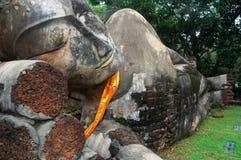 Kamphaeng historiska Phet parkerar Aranyik område, Buddha av Thailand Fotografering för Bildbyråer