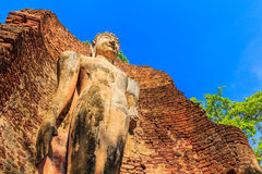 Kamphaeng Phet历史公园在泰国 库存图片
