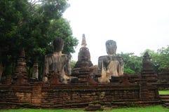 Kamphaeng Phet Aranyik Dziejowy Parkowy teren, Buddha Thailand Obrazy Stock
