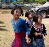KAMPHAENGPHET, ΤΑΪΛΑΝΔΗ - 8 Ιανουαρίου 2014 όλη η εθνική ομάδα στην Ταϊλάνδη πολύ φτωχή αλλά έχει τον όμορφο πολιτισμό, αυτά τα π Στοκ φωτογραφία με δικαίωμα ελεύθερης χρήσης