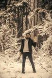 Kampieren, reisend und Winterruhe lizenzfreie stockbilder