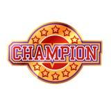 kampioen Royalty-vrije Stock Afbeelding