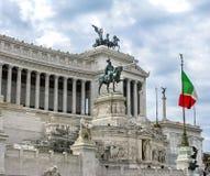 Kampioen Emmanuel II monument Royalty-vrije Stock Afbeeldingen