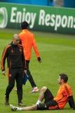 2012 kampioenenliga Definitieve Chelsea Training Stock Fotografie