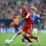 2012 kampioenenliga Definitieve Chelsea Training Royalty-vrije Stock Afbeeldingen