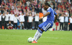 2012 kampioenenliga Definitieve Chelsea Training Royalty-vrije Stock Fotografie