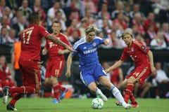 2012 kampioenenliga Definitieve Chelsea Training Royalty-vrije Stock Foto