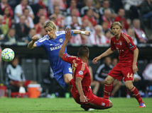 2012 kampioenenliga Definitieve Chelsea Training Stock Foto