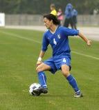 KAMPIOENSCHAP 2009, ITALIË-HONGARIJE VAN HET VOETBAL VAN UEFA HET VROUWELIJKE Royalty-vrije Stock Afbeelding