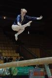Kampioenschap op sportieve gymnastiek Royalty-vrije Stock Foto's