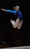 Kampioenschap op sportieve gymnastiek Stock Fotografie