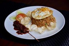 Kampoeng fried rice stock photo