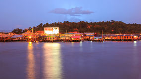 Kampong Ayer image stock