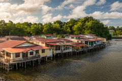 Kampong Ayer Royalty Free Stock Photos