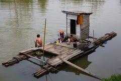 Kampong bathroom royalty free stock photos