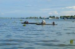 Kampong Chhnang prowincja makong rzeki dom blisko kongrie góry w królestwie Cambodia blisko Thailand granicy Obraz Royalty Free