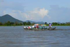 Kampong Chhnang prowincja makong rzeki dom blisko kongrie góry w królestwie Cambodia blisko Thailand granicy Obrazy Stock