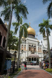 Kampong Glam and Sultan Mosque Royalty Free Stock Image