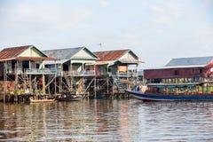 Kampong Phluk floating village Royalty Free Stock Photo