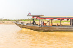 Kampong, Siem Reap, Cambodge février, 27 2015 : Touris non définis Photographie stock
