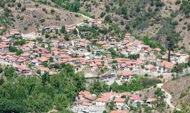 Kampos mountain Village, Cyprus Royalty Free Stock Image