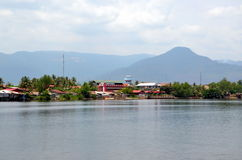 Kampot city, Cambodia Royalty Free Stock Image