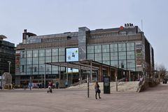 Kamppi shopping centre Helsinki Finland Stock Images