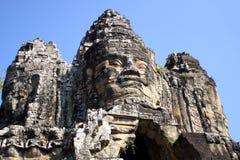 Kampuchea Angkor Wat statues Stock Photography
