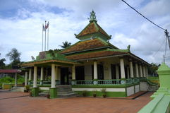Kampung Ayer Barok Mosque in Malacca Stock Image