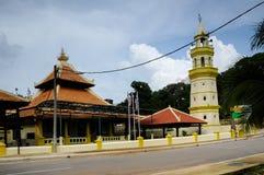 Kampung Duyong Mosque in Malacca Royalty Free Stock Photo