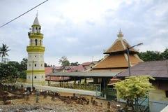 Kampung Duyong Mosque in Malacca Stock Image