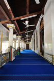 Kampung Kling清真寺在Melaka 马来西亚 免版税图库摄影