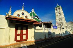 Kampung Kling Mosque Stock Image