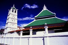 Kampung Kling Mosque Stock Photo