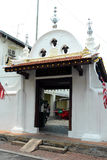 Kampung Kling Mosque in Melaka Royalty Free Stock Photo