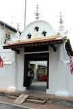 Kampung Kling Mosque in Melaka. Kampung Kling Mosque (Malay: Masjid Kampung Kling) (sometimes also spelt Kampung Keling Mosque) is an old mosque in Malacca Royalty Free Stock Photo