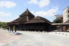 Kampung Laut moské i Kelantan Arkivfoton