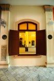 Kampung Paloh清真寺在怡保,马来西亚 免版税库存图片