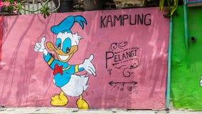 Kampung Pelangi στο Σεμαράνγκ Ινδονησία Στοκ Εικόνες