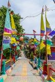 Kampung Pelangi στο Σεμαράνγκ Ινδονησία Στοκ Φωτογραφίες