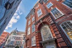 Kampusów budynki przy London School Of Economics zdjęcia royalty free