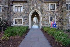 Kampus diuka uniwersytet w Durham, Pólnocna Karolina Obrazy Royalty Free