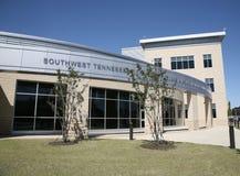 Kampus Południowo-zachodni Tennessee college społeczny fotografia royalty free